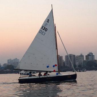 Sailing at Gateway of India, Mumbai, Seabird Sailboat