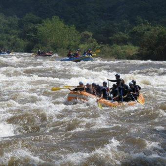 Adventure Rafting at Kolad