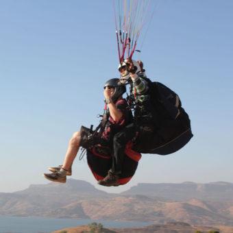 Learn Paragliding at Kamshet,