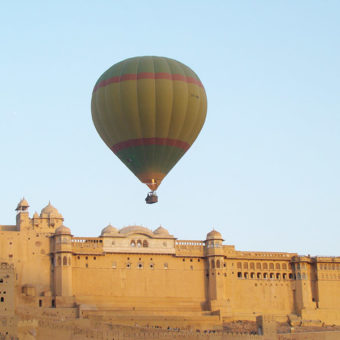 Hot Air Ballooning at Jaipur, Rajasthan