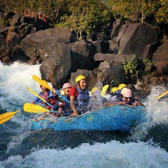 River Rafting on Kali River, Dandeli
