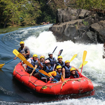 White Water Rafting at Dandeli
