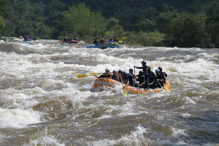 River Rafting + Kayaking + River Crossing + Zip Line + Bumper Ride + Banana Boat Ride + Lunch in Kolad