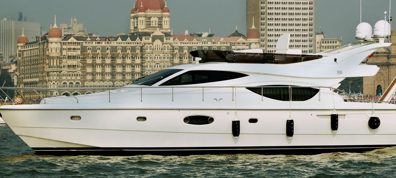 Charter a Yacht in Mumbai