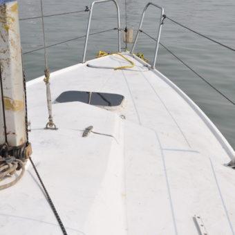 Sailing at Gateway of India, Mumbai (Maxi 7.7 Yacht)