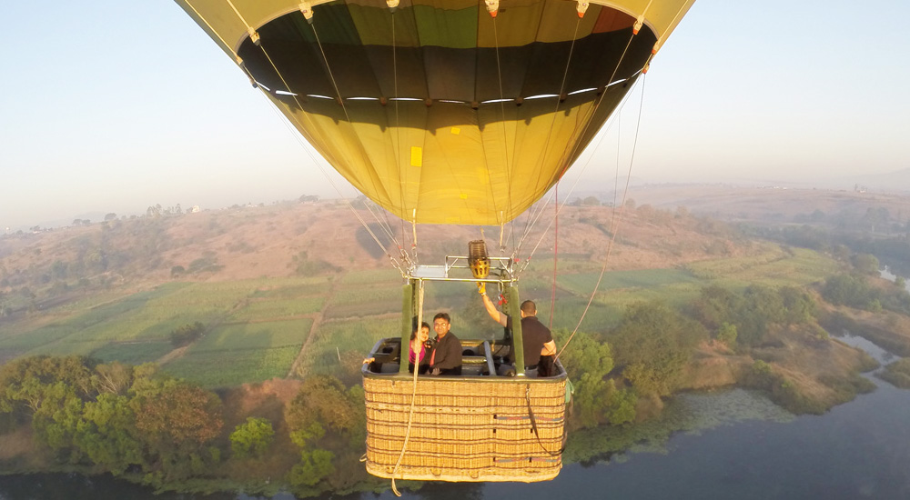 Hot Air Ballooning in Lonavala