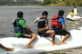 Banana Boat Ride in Kolad