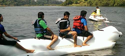 Banana Boat Ride in Kolad