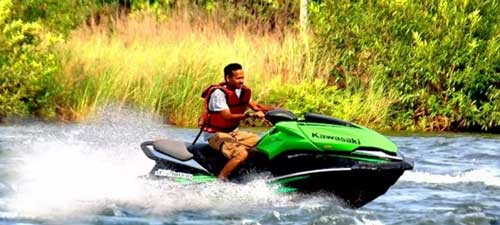 Jet Ski Ride in Kolad