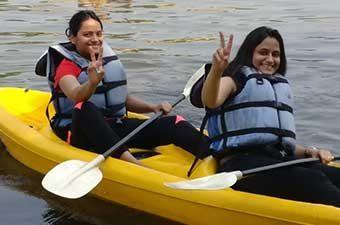 Kayaking in Kolad