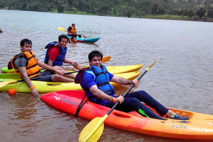 One Day Trip with Adventure Activities and Meals at Maruti Wadi Lake (Near Igatpuri / Kasara)