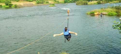 Zipline in Kolad