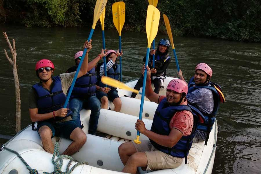 River Rafting in Lavasa, Games and Lunch