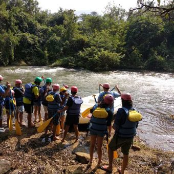 River Rafting in Lavasa, Mutha River