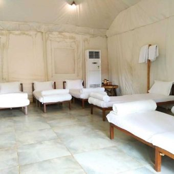 Rock Hill Adventures and Resorts, Kolad, Maharashtra, Big Swiss Tent