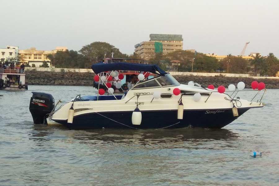 Mumbai - Mandwa Speedboat Transfer (Drago 660 Speedboat)