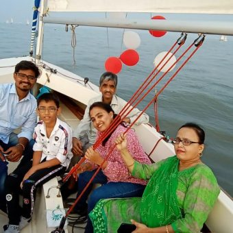 Razia Baig's Review for Sailing at Gateway of India, Mumbai (Seabird Sailboat)