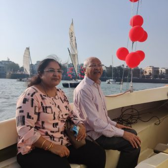 Harish Gandhi's Review for Sailing at Gateway of India, Mumbai (Seabird Sailboat)