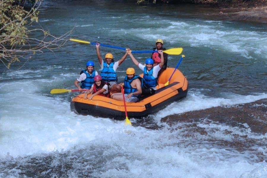 Karjat River Rafting - Pej River