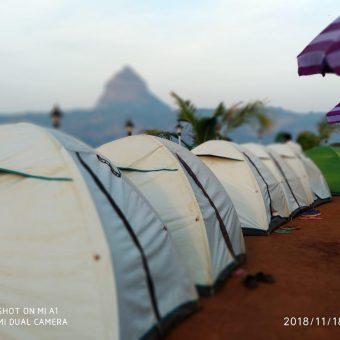 Lake View Camping in Pawna