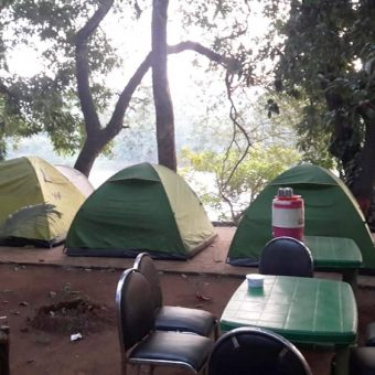 Riverside Camping in Kolad, Wilder West Adventures