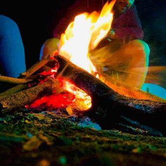 Lakeside Camping in Pawna