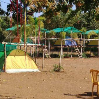 Pawna Lakeside Camping in Machan Tents