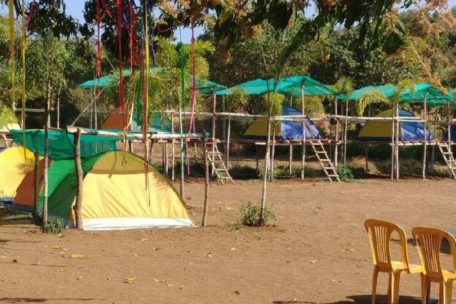 Pawna Lakeside Camping in Machan Tents