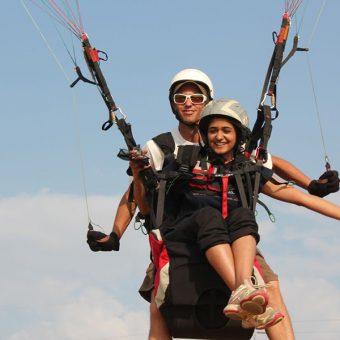 Tandem-Paragliding-Kamshet