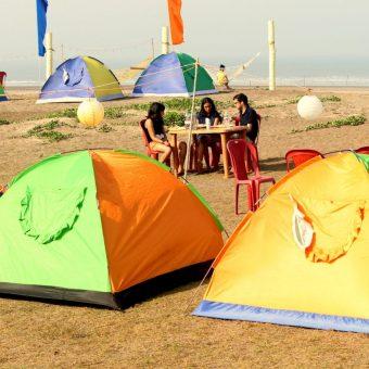 Beach Camping in Alibaug