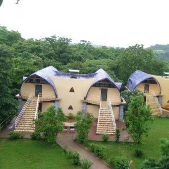Camping in Dome at Z-Bac Adventures Kolad