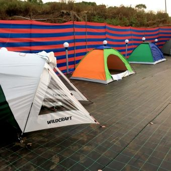 Mountain Camping in Mahableshwar