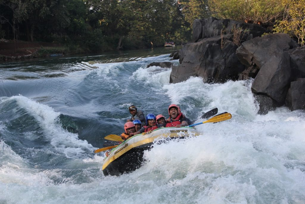River Rafting in Kundalika River at Z-Bac Adventures Kolad