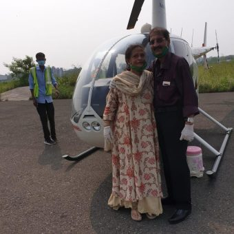 Sajid Ladak - Review for Helicopter Ride in Mumbai (Robinson R44 Helicopter)
