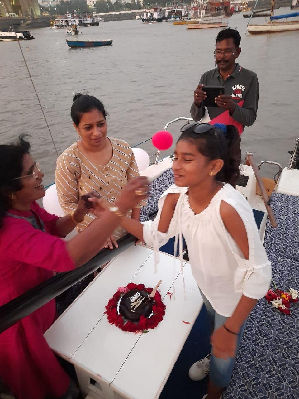Birthday Yacht at Gateway of India, Mumbai
