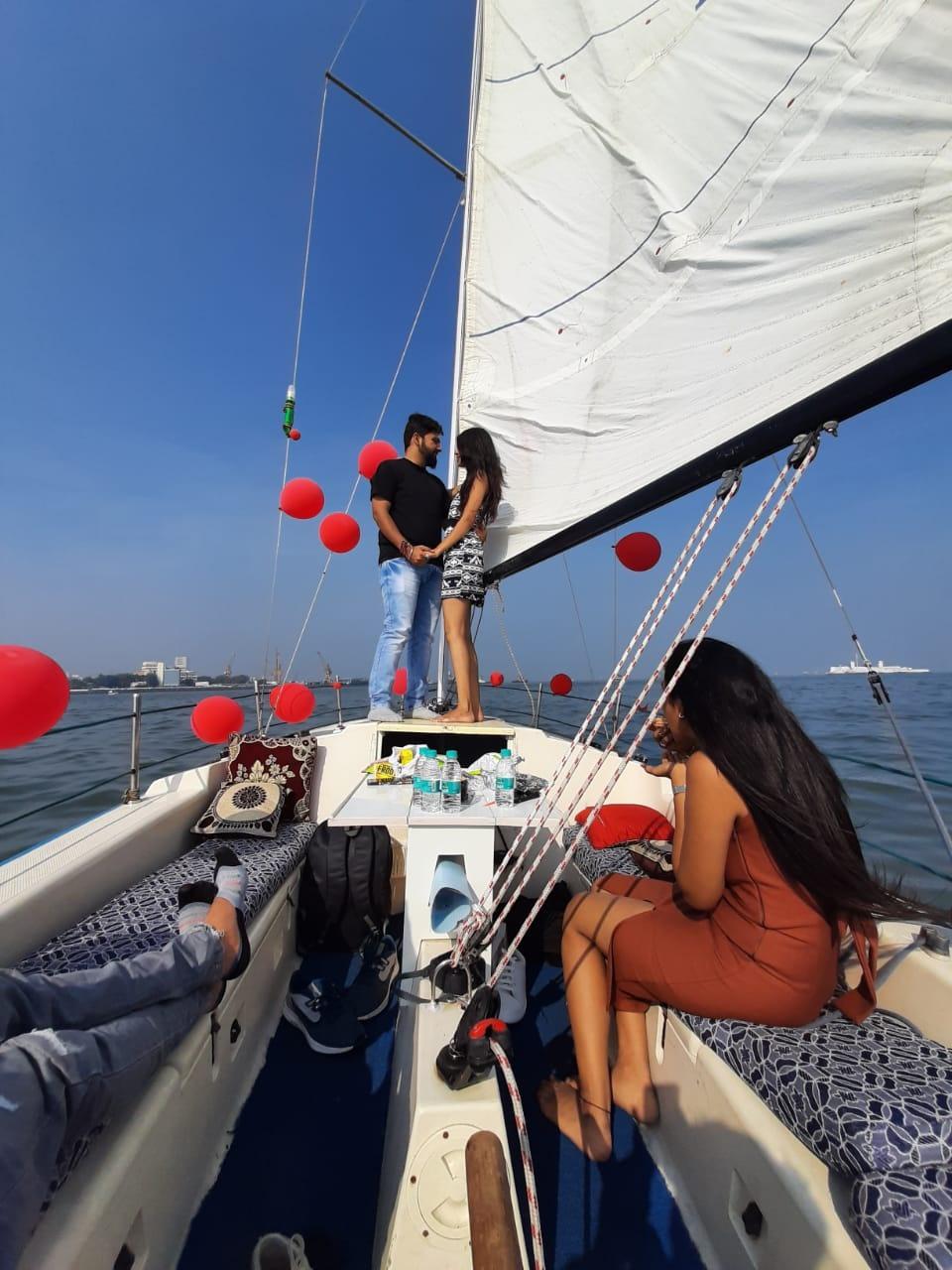 Yacht for Couples Anniversary in Mumbai