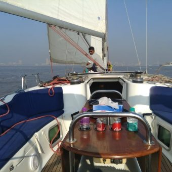 Jeanneau 45 Yacht - Sailing at Gateway of India, Mumbai