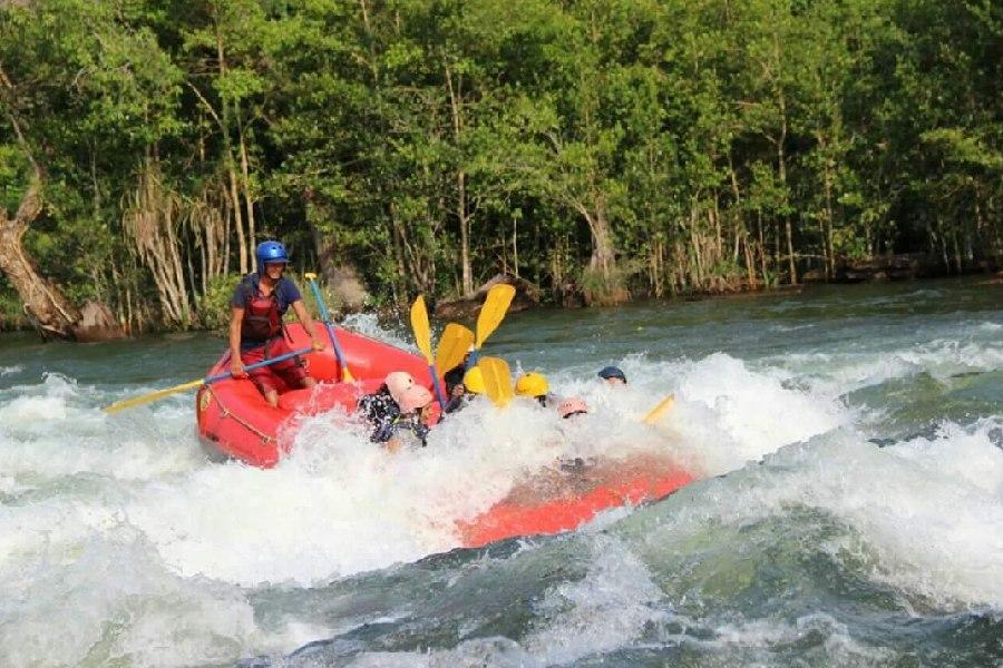 Kolad River Rafting - Rapids