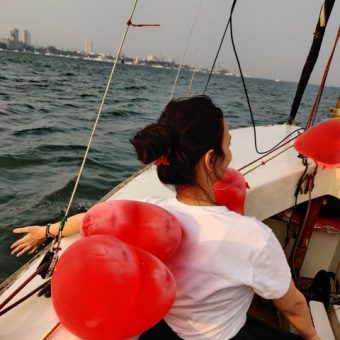 Rakhee Pathak's Review for Sailing at Gateway of India, Mumbai (Seabird Sailboat)