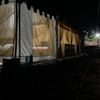 Camping in Luxury Tent at Anant Ecostays, Igatpuri