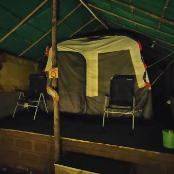 Camping in Standard Tent at Anant Ecostays, Igatpuri
