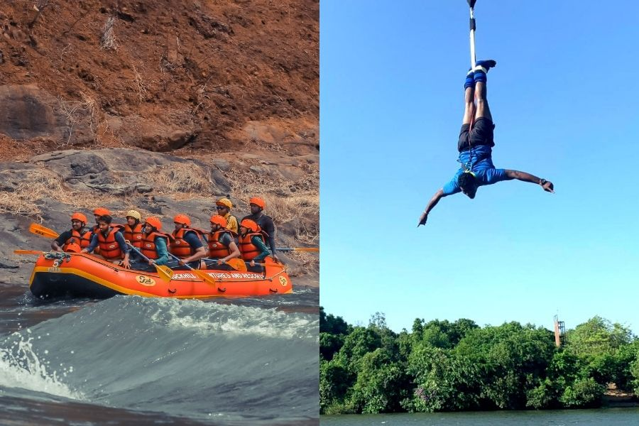 Kolad River Rafting and Bungee Jumping