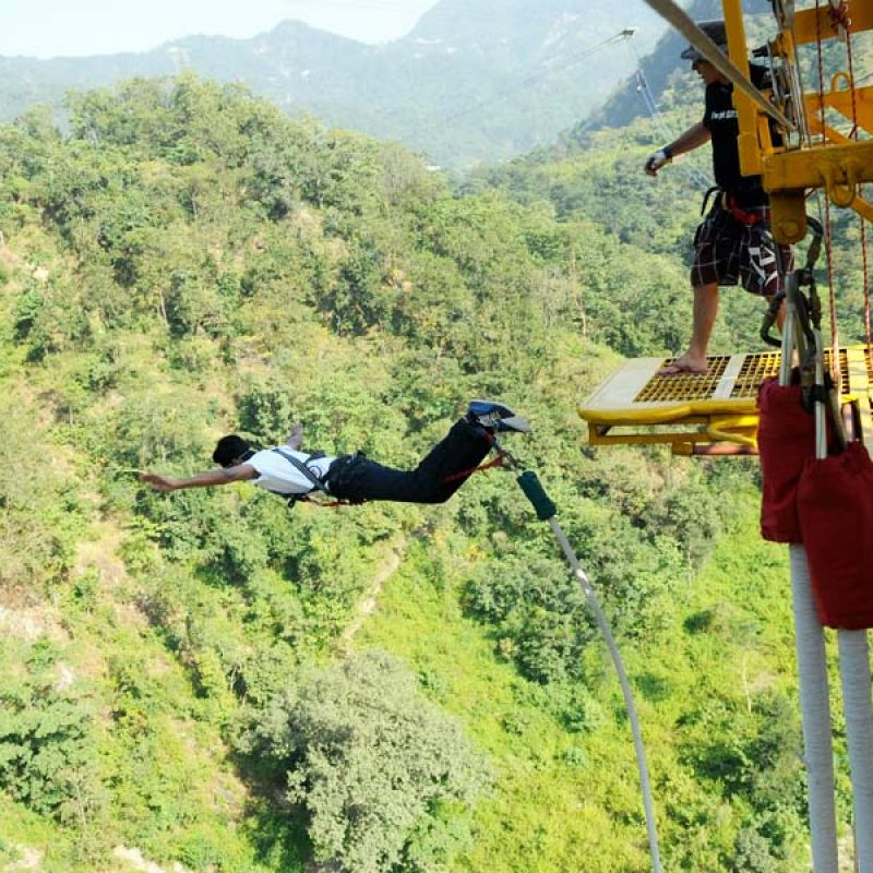 Bungee Jumping / Bungy Jumping in Rishikesh