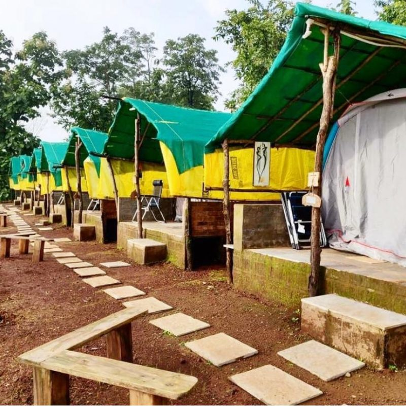 Camping in Deluxe Tent at Anant Ecostays, Igatpuri
