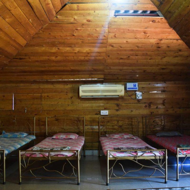 Camping in Mud House at Z-Bac Adventures Kolad