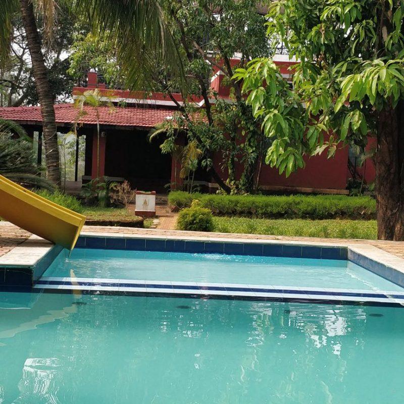 Swimming Pool at Hans Adventures Resort, Kolad