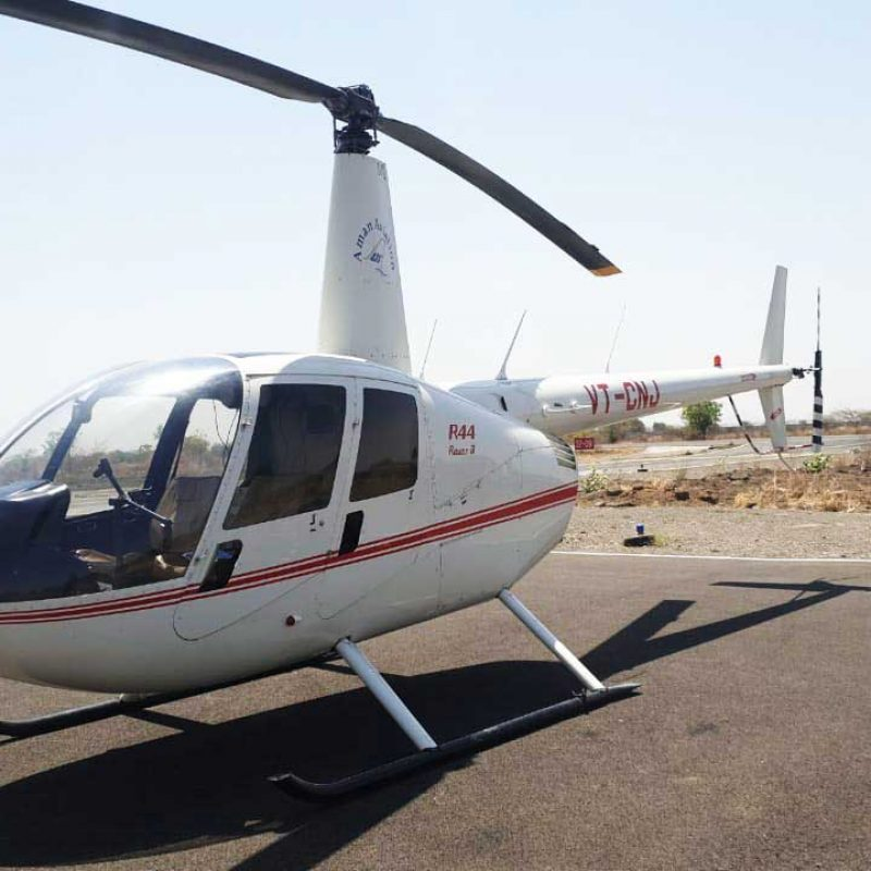 Helicopter Ride in Mumbai (Robinson R44 Helicopter)