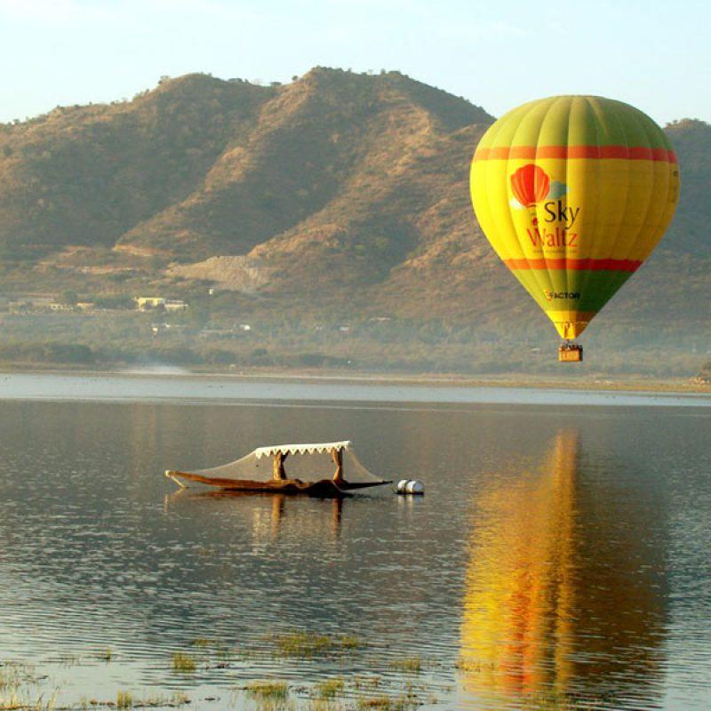 Hot Air Ballooning, Jaipur, Rajasthan