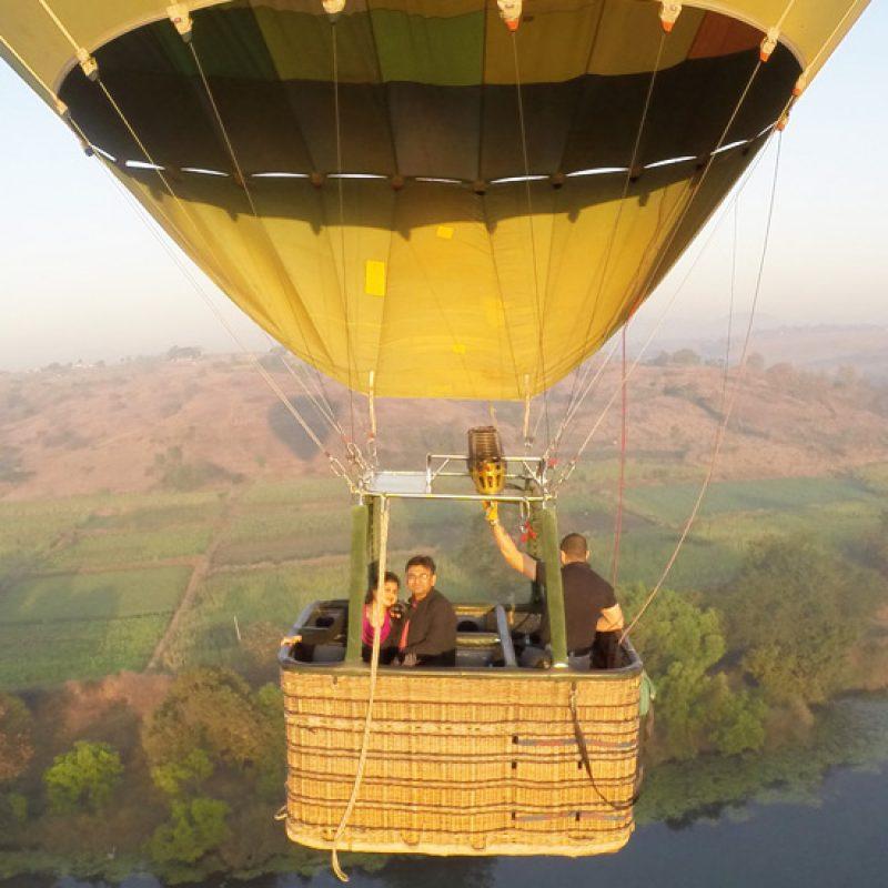 Hot Air Ballooning in Lonavala