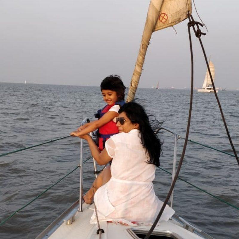 Jeanneau 29 Yacht - Sailing at Gateway of India, Mumbai